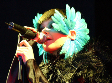 Try finding a normal picture of Björk