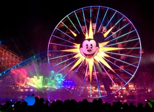 There are some truly stunning images of World of Color.  This is not one of them.