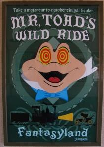 Mr Toad Wild Ride