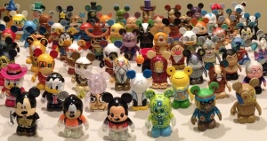 One platoon of our army of Vinylmation characters.