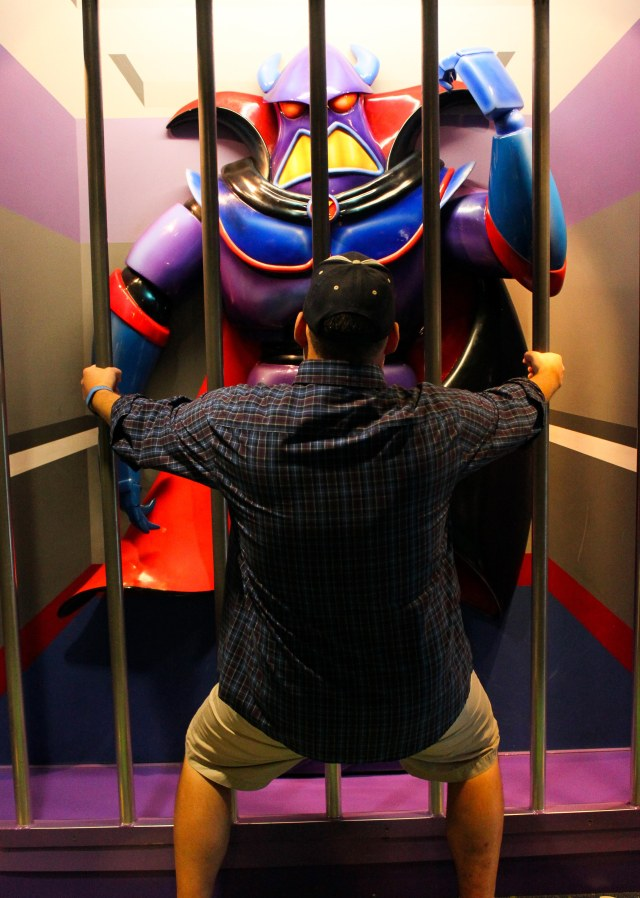 """For your crimes against the galaxy, I sentence you to twenty-five years of riding Space Ranger Spin."""