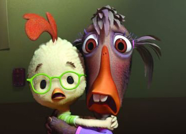 "Chicken Little and Abby Mallard were not comforted by their ""Timelessness"" score."