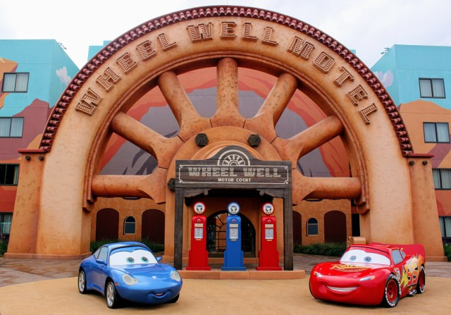 Everyone tells Lightning McQueen his girlfriend is a little fast, if you know what I mean. He doesn't seem to care.