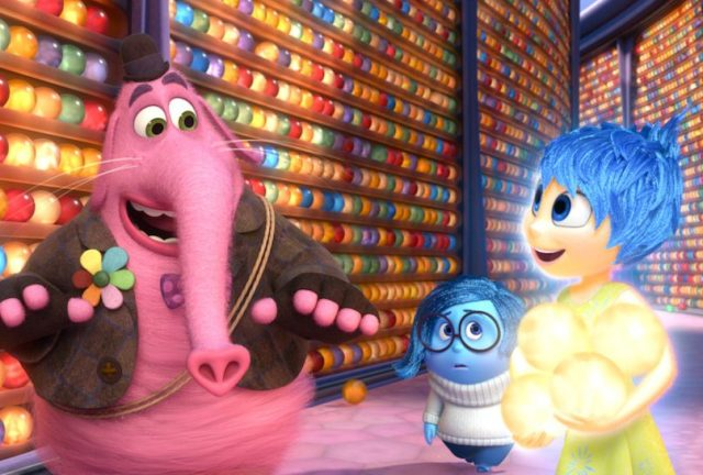 """""""And ever since then, Riley has been afraid of novelty toothbrushes."""" Image by Disney•Pixar"""