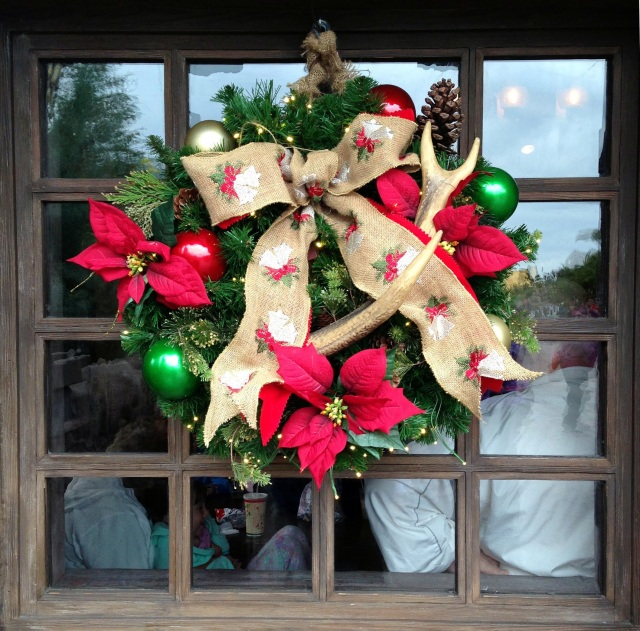 Gaston really does use antlers in all of his decorating.