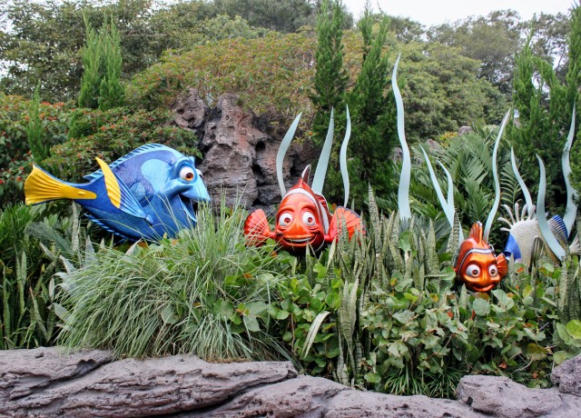 Is the best attraction in Future World based on fish? AKA, the dumbest animals in the world?