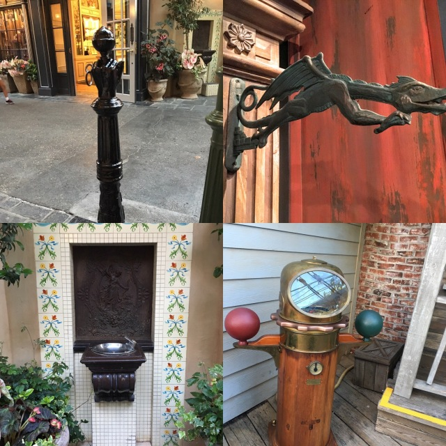 Actual photos from our last trip to Disneyland. I took these on purpose.