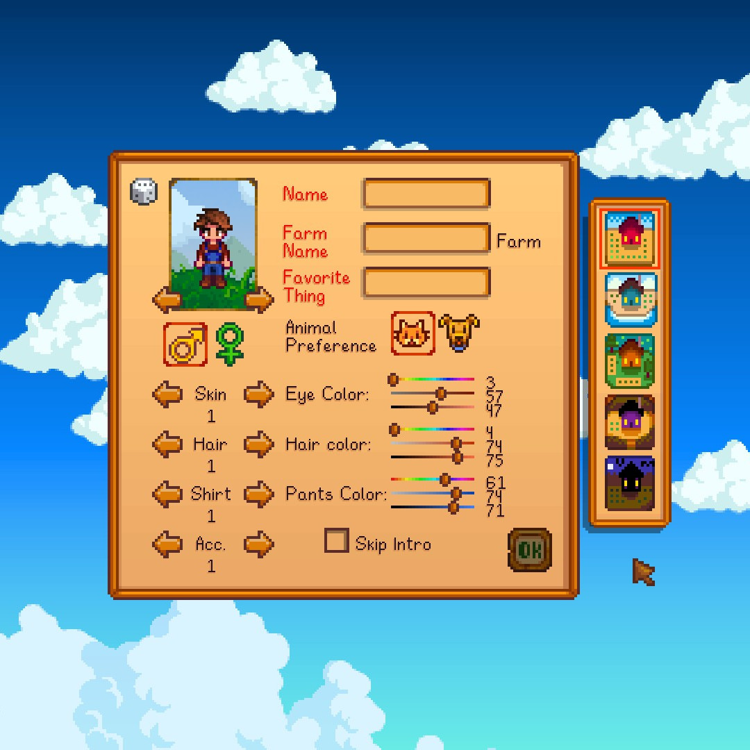 A Year in Stardew Valley, Part One – Introductions – Deep Forest Outpost